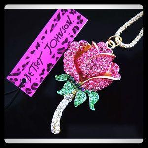 Crystal pave rose 🌹